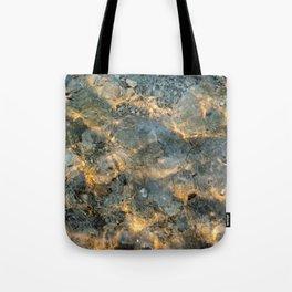 Yellowstone Lake Sunrise Tote Bag