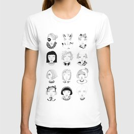 Faces T-shirt