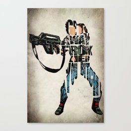 Ellen Ripley from Alien Canvas Print