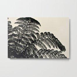 Palm Fan Metal Print