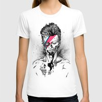 gore T-shirts featuring Zombowie by Daryll Peirce