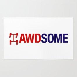 AWDSOME v2 HQvector Rug