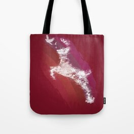 In Search Of Peace - (Maroon) Tote Bag
