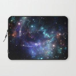 Violet green nebula galaxy 180715 Laptop Sleeve