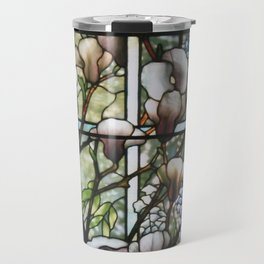 Louis Comfort Tiffany - Decorative stained glass 8. Travel Mug