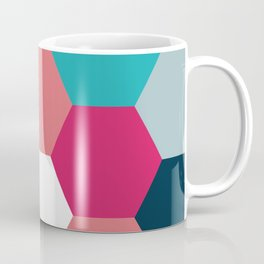 Bright Hexagon Coffee Mug