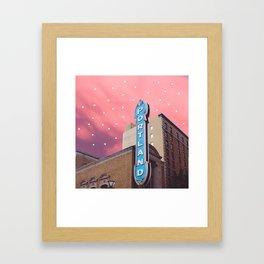 Portland, OR Framed Art Print