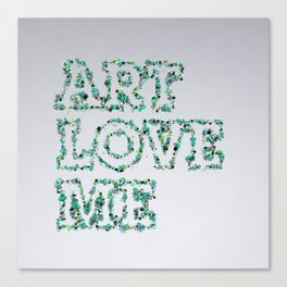 Art love me Canvas Print