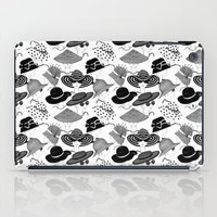 hats iPad Cases featuring Hats, Hats, Hats!! by Lina Che