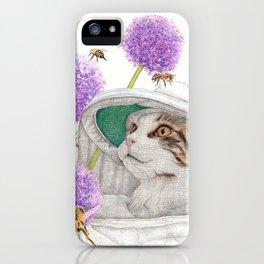 Bee Cat iPhone Case