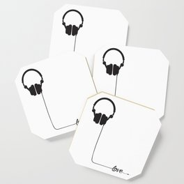 For the love of music 2.0 Coaster