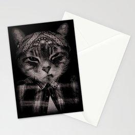Gangster Cat (Platinum) Stationery Cards