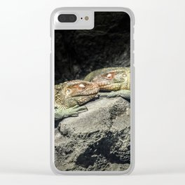 Dreaming Deep Clear iPhone Case