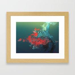 Nanaue Framed Art Print