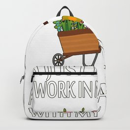 Work in Garden Hang with Chickens Backpack