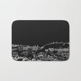lisbon skylines Bath Mat