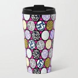 Filled Circles Travel Mug