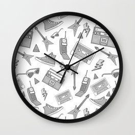 Livin in the 90s // Grey Wall Clock