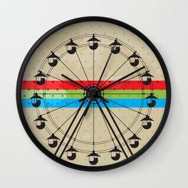The Fun Wheel Wall Clock