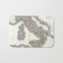 Italy map - John Cary - 1799 Bath Mat