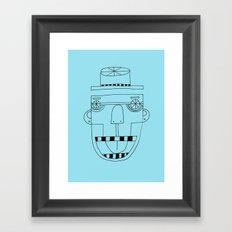 Funky Monkey Framed Art Print