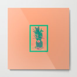 Pineapple Express //Alternate Two Metal Print