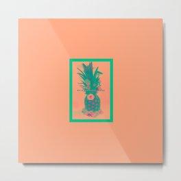 Pineapple Express //Alternate Two Metal Print