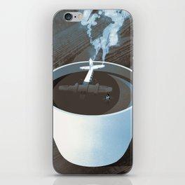 Crash Landing iPhone Skin
