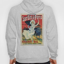 1890 Jardin De Paris Night Party Hoody