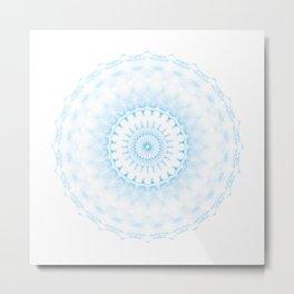 Snowflake #005 transparent Metal Print