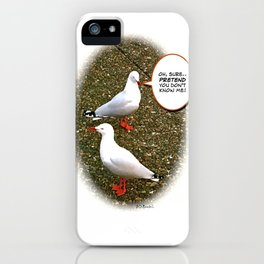 """""""Oh, sure..""""  iPhone Case"""