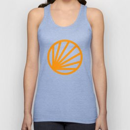 Circle dissected Unisex Tank Top