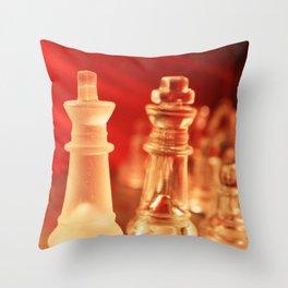 Chess1 Throw Pillow