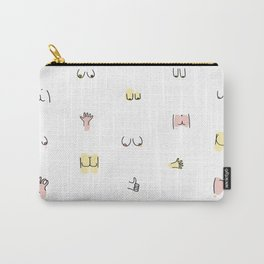 more butts and boobies Carry-All Pouch