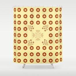 Sepia Design   Shower Curtain