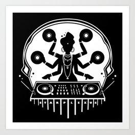 Disco Shiva Art Print