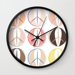 Vulvariety by Michelle Nunes Wall Clock
