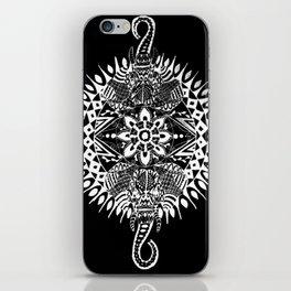 Elephant Mandala (Inverted) iPhone Skin