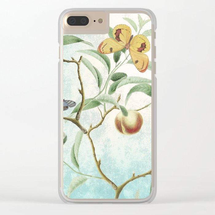 Soon shall our wings be stilled Clear iPhone Case
