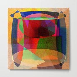 Art - Abstract  - Deko Metal Print