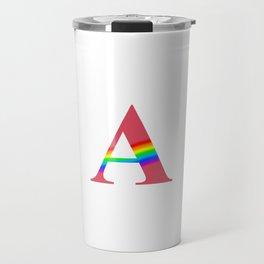 GAY (With Rainbow) Travel Mug