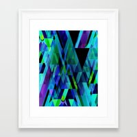 prism Framed Art Prints featuring Prism by Nest 6
