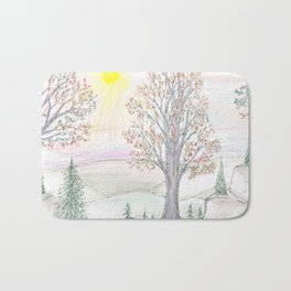 Paths to the Sunny Side Bath Mat
