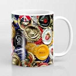 Beer Bottletops Coffee Mug
