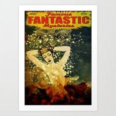 Famous Fantastic Mysteries Art Print