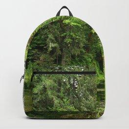 Hoh Rainforest Scene Backpack