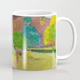 Tahitian Landscape by Paul Gauguin Coffee Mug