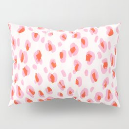 Pink Leopard Pillow Sham