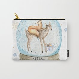 Christmas deer #3 Carry-All Pouch