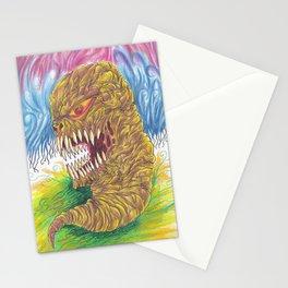 Demon Maggot Color Art Illustration Stationery Cards